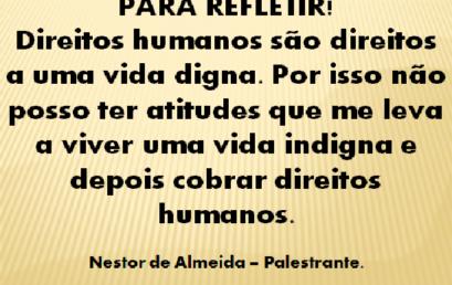 DIREITOS HUMANOS! 10/12/2017