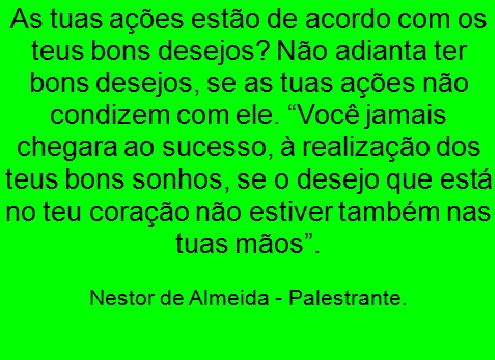CONSELHO DO DIA 04/01/2018