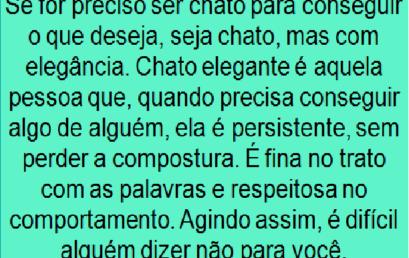 DICA DO DIA 08/02/2018